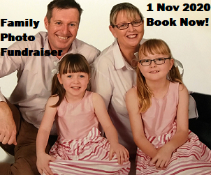 Book Now! Family Photo Fundraiser